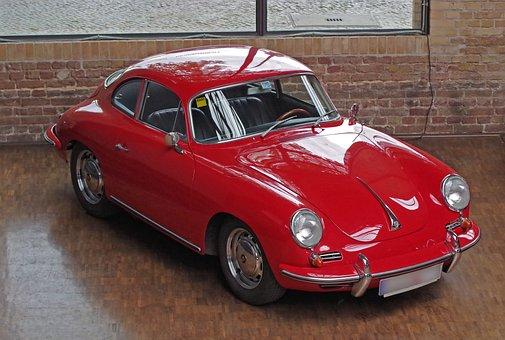 Auto, Porsche, Coupe, Oldtimer, Vehicle