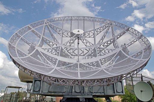 Antenna, Radar, Satellite, Wireless, Radio Antenna