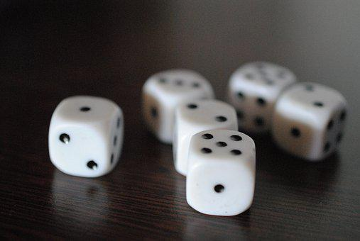Dice, Gambling, Chance, Luck, Risk