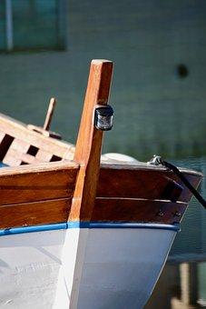 Boat, Porto, Fishermen, Sea, Wood, Outdoors, Sardinia