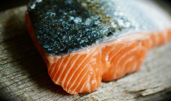 Salmon, Fish, Seafood, Silver Skin, Food, Healthy