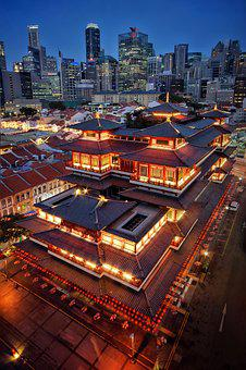 Buddha Tooth Relic Temple, Singapore, Chinatown
