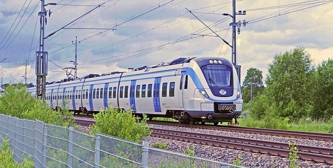 S Bahn, Stockholm - Enköping, Suburban, Commuter Train