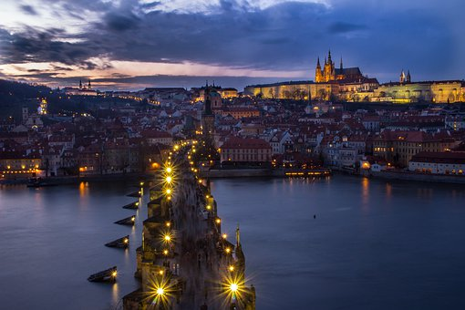 Waters, City, River, Travel, Urban Landscape, Prague