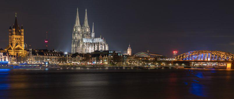 River, Panorama, City, Travel, Waters, Dom, Cathedral