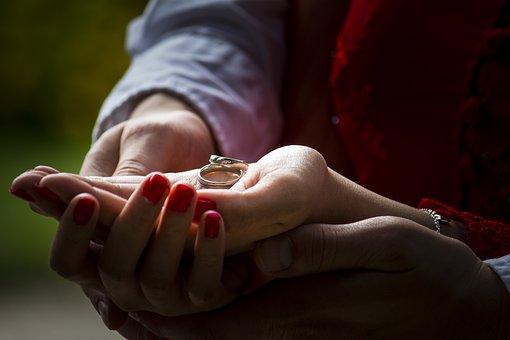 Human, A, Woman, Adult, Love, Hand, Wedding, Romance