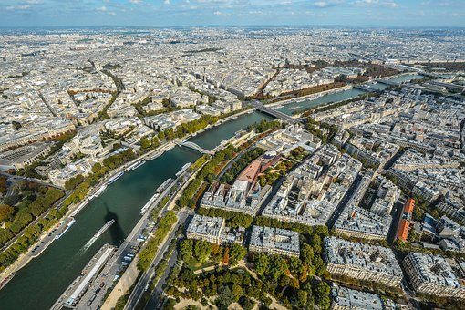 City, Travel, Cityscape, Aerial, Architecture, Panorama