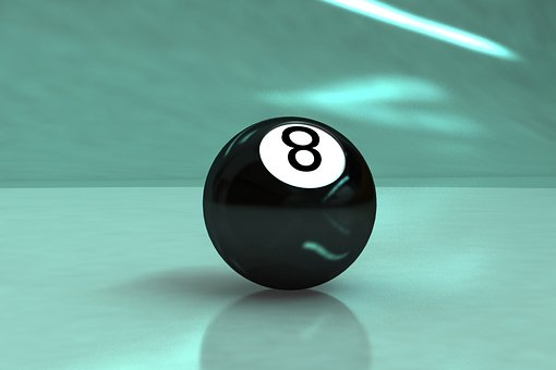 8-ball, Billiards, Game, Ball, Sphere