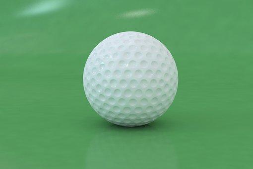 Golf, Ball, Club, Golfer