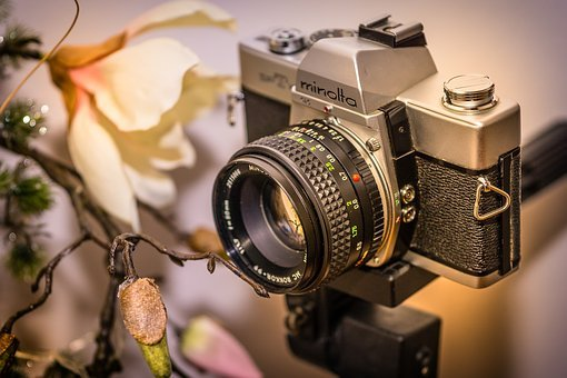 Photo Camera, Camera, Point-and-shoot, Lens, Old, Retro