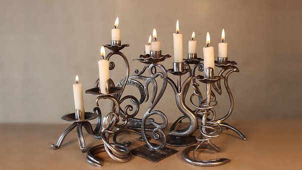 Candle, Candlestick, Candlelight, Lamp, Wax