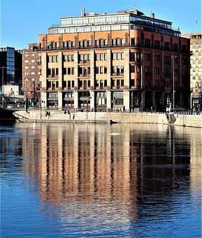 Water, Architecture, City, Channel, Palace, Building