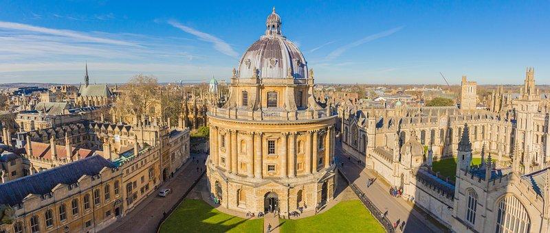 Building, Tourism, City, Sky, Oxford, Radcliffe Camera