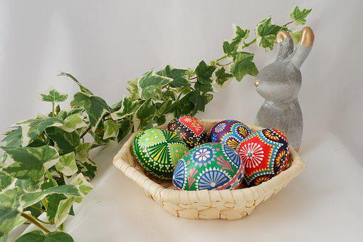 Easter, Ornament, Background, Egg Easter Egg