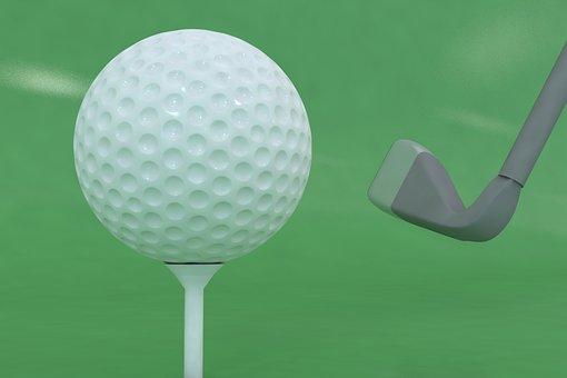 Golf, Golfer, Club