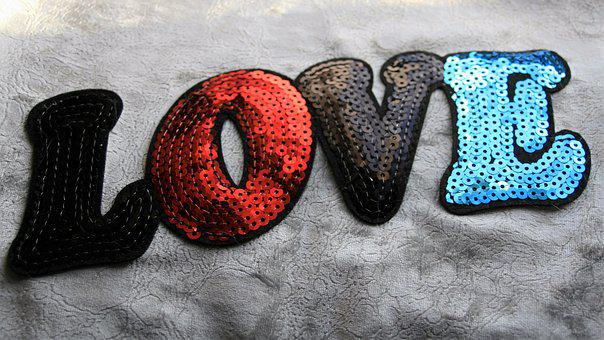Love, 14, February, The Inscription, Sequins