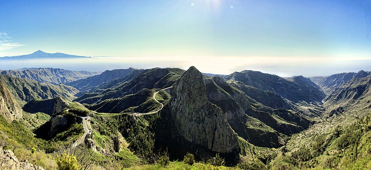 Gomera, Canary Islands, Los Roques, Nature, Mountain