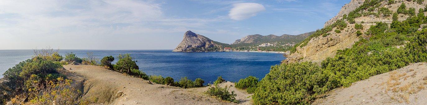 Sea, Nature, Panoramic, Panoramic Photo, Landscape