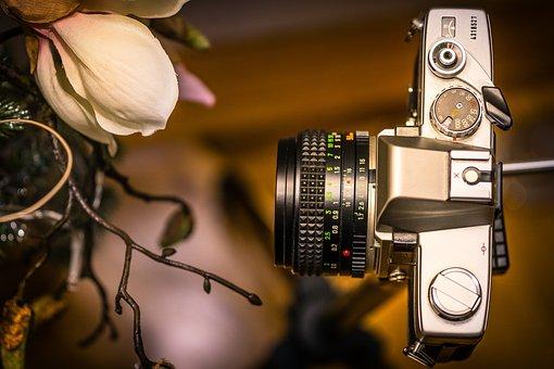 Photo Camera, Camera, Point-and-shoot, Lens, Old, Retro