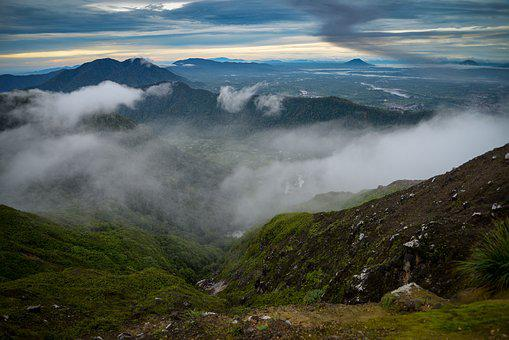 Panoramic, Landscape, Mountain, Nature, Travel, Sky