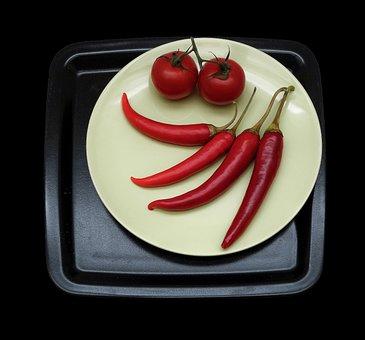 Food, Cook, Vegetables, Preparation, Paprika, Chilli