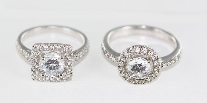 Platinum, Precious Stone, Luxury, Jewelry, Brilliant