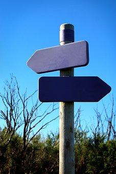 Road, Sky, Shield, Arrow, Directory, Direction, Note