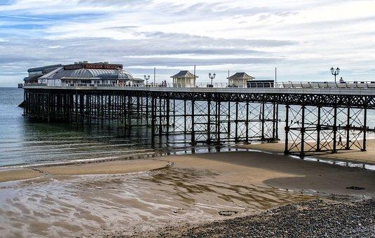 Water, Sea, Pier, Beach, Jetty, Cromer, Sand, Seaside