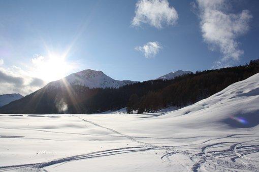 Snow, Mountain, Winter, Landscape, Panorama, Snowy