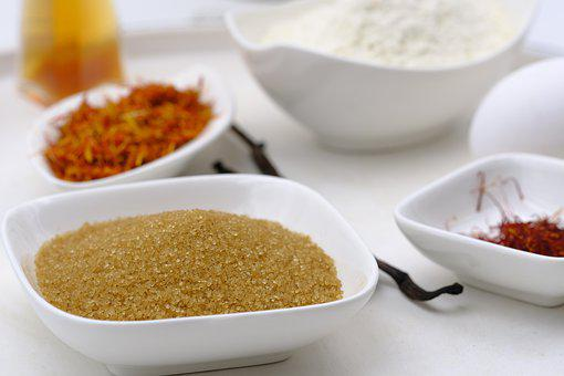Bake, Cook, Spices, Zucher, Cane Sugar, Saffron, Flour