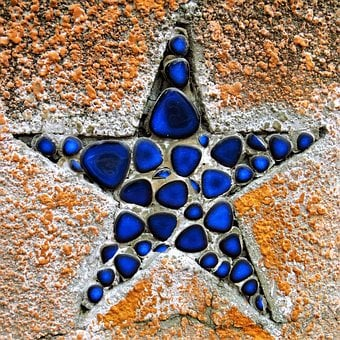 Mosaic, Star, Ornament, The Structure Of, Shape