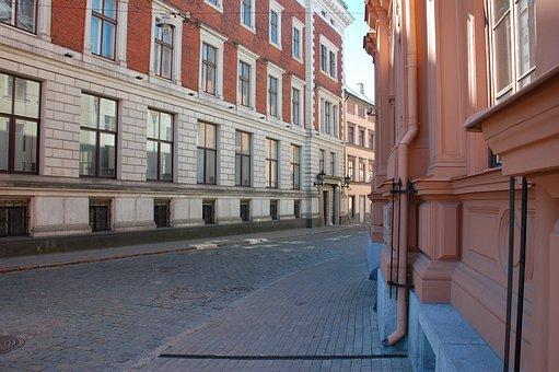 Architecture, House, Window, Street, Megalopolis