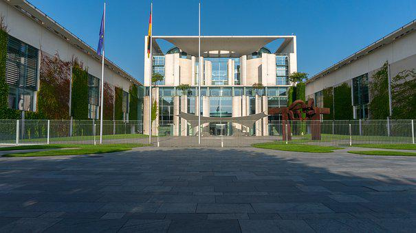 Architecture, Home, Federal Chancellery, Berlin