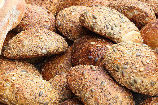 Israel, Jerusalem, Bakery, Buns, Food, Bread
