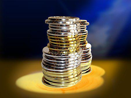 Money, Currency, Coins, Capital, Finance, Company