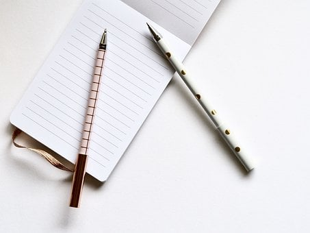 Paper, Document, Composition, Notebook, Writing, Diary