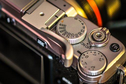 Camera, Detail, Shutter, Macro, Film, Lens, Mechanical