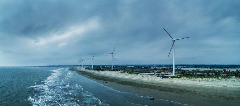 The Sea, Wind Power Generation, Energy