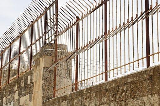 Israel, Jerusalem, Wall, Fence, Defence, Protection