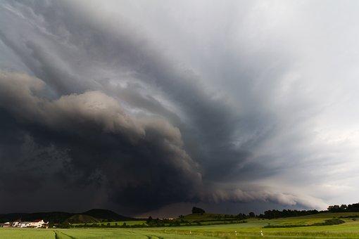 Thunderstorm, Storm, Forward, Landscape, Nature, Rain