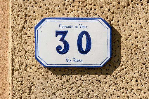 House Number 30, House, Number, 30, Italy, Wall, Street