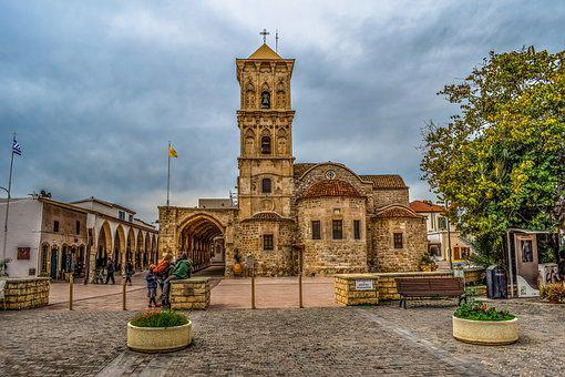 Cyprus, Larnaca, St, Lazarus, Church, Cathedral