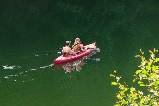 Waters, Lake, Nature, Canoeing, Water, Leisure