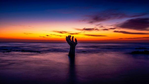 Sunset, Dawn, Dusk, Sun, Evening, Water, Nature, Sea