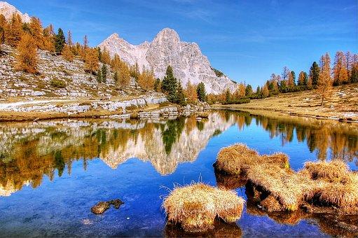 Waters, Lake, Nature, Reflection, Landscape, Scenic