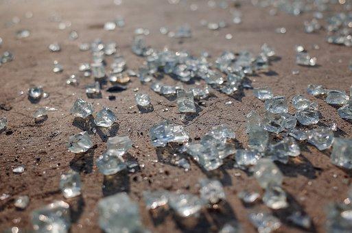 Glass, Broken, Transparent, Nature, Abstract, Pattern