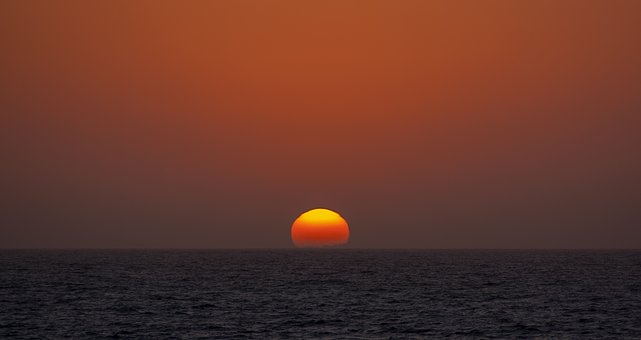 Sunset, Sun, Sky, Dusk, Dawn, Perth, Sunrise, Nature