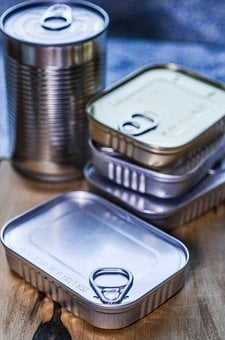 Can, Kitchen, Product, Wooden, Canned, Container, Metal