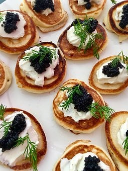 Food, Refreshment, Gourmet, Delicious, Meal, Caviar