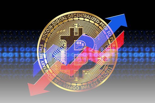 Bitcoin, Loss, Stock Exchange, Profit, Share, Rise